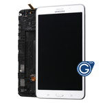 Samsung Galaxy Tab 4 7.0 SM-T231,SM-T235 Complete LCD with Frame and Home Button in White (Grade A)