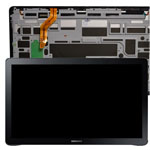 Genuine Samsung SM-T670 Galaxy View 18.4 Complete Lcd with Digitizer and Frame in Black- Samsung part no: GH97-18093B