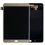 Genuine Samsung SM-T710 Galaxy Tab S2 8.0 WiFi Complete Lcd with Digitizer in Gold- Samsung part no: GH97-08801A