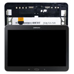 Genuine Samsung SM-T533 Galaxy Tab 4 10.1 (2015) Complete Lcd with Digitizer and Frame in Black- Samsung part no: GH97-17100A