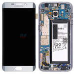 Genuine Samsung SM-G928F Galaxy S6 Edge Plus Complete LCD with Touchscreen and Battery in Silver- Samsung part no: GH82-13206A