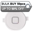 50pcs iPhone 4 Home Button White