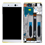 Genuine Sony Xperia XA Ultra (F3211), Xperia XA Ultra Dual (F3212) Complete Lcd with Digitizer in White- Sony part no: A/8CS-59290-0005