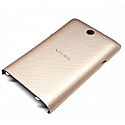 Genuine Sony C1605 Xperia E Dual Battery Cover in Gold- Sony part no: A/405-58570-0012