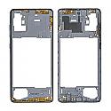 Genuine Samsung Galaxy A71 (A715F) Middle Frame In Silver - Part No: GH98-44756B