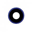Iphone XR Rear Camera Lens - With Bracket - Blue - OEM  -packs of 5