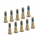 Iphone XR Bottom Screw Set - Space Gold-packs of 10