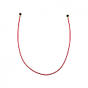 Genuine Samsung Galaxy A30s, A50 Coaxial Cable 120MM Red - Part No: GH39-02039A