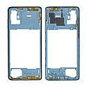 Genuine Samsung Galaxy A71 (A715F) Middle Frame In Blue - Part No: GH98-44756C