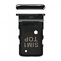Genuine Samsung Galaxy A80 (A805F) Sim Card Holder Black - Part No: GH98-44244A