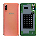 Genuine Samsung Galaxy A70 (A705F) Back Cover In Coral - Part No: GH82-19467D