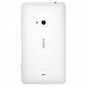 Nokia Lumia 625  Battery Cover (White)-Part no: 02504R2;8003088