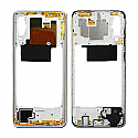 Genuine Samsung Galaxy A70 (A705F) Middle Frame In White - Part No: GH97-23258B