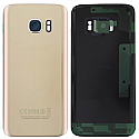Genuine Samsung sm-G930F Galaxy S7 Battery Cover in Gold-Samsung part no: GH82-11384C (GRADE A)