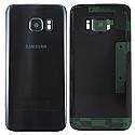 Genuine Samsung SM-G930F Galaxy S7 Battery Cover in Black-Samsung part no: GH82-11384A (GRADE A)