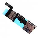 Genuine Samsung SM-N910F Galaxy Note 4 Sim/Memory Card Reader Flex-Samsung part no: GH59-14179A(Grade A)