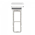 Genuine Samsung Galaxy Note 10 (N970F) Sim Card Holder In Aura White Part No: GH98-44525B