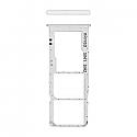 Genuine Samsung Galaxy A30s (A307F) Sim Card Holder White - Part No: GH98-44769D