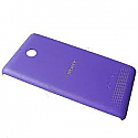 Genuine Sony D2004 Xperia E1 Battery Cover in Purple- Sony part no: A/405-58650-0004
