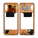 Genuine Samsung Galaxy A70 (A705F) Middle Frame In Coral - Part No: GH97-23258D