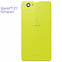 Genuine Sony D5503 Xperia Z1 Compact Battery Cover (Lime)-Sony part no:1276-8475