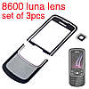 nokia 8600 luna lens 3pcs set