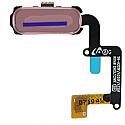 Genuine Samsung Galaxy A5 2017 A520 Home Key button / fingerprint with flex in Pink  - Part no : GH96-10448D