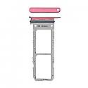 Genuine Samsung Galaxy Note 10 (N970F) Sim Card Holder In Aura Pink Part No: GH98-44525F