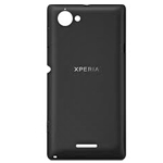 Genuine Sony C2105 Xperia L, C2104 Xperia L Battery Cover (Black) - P/N:251ASA7702W
