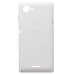 Genuine Sony C2104 C2105 Xperia L Battery Cover (White) - P/N:251ASA7701W