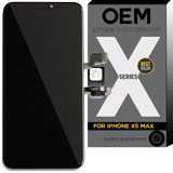 iPhone XS Max OEM edge-to edge 6.5 Inch Super Retina AMOLED Replacement Lcd Display In black