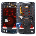 Motorola Nexus 6 Centre Bezel Frame Housing with Parts in Midnight Blue