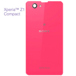 Genuine Sony D5503 Xperia Z1 Compact Battery Cover (Pink) - P/N:1276-8473