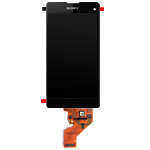 Genuine Sony Xperia Z1 Compact (D5503) 4.27 inch Display Lcd Screen & Touchpad - Sony Part no: 1277-2538