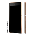 Genuine Sony E6533 Xperia Z3+ Dual Display lcd and Digitizer with Frame Assy DS in Copper- Sony part no:1294-1836