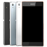 Genuine Sony Xperia Z3 Plus, Xperia Z4, Sony E6553 Complete lcd and Touchpad with Frame in Copper - Part number :1293-1499