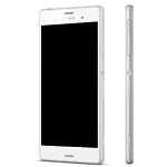 Sony Xperia Z3 (D6603) Complete lcd with touchpad and frame and Front Assy in White - Sony part number:1290-6075