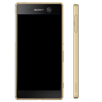 Genuine Sony Xperia Z5 (E6653) Complete lcd and touchpad with frame in Gold - Part no: 1296-1895